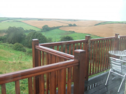 Delightful balcony views from Broadviews B & B Marlborough
