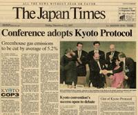 Japan signs Kyoto protocol