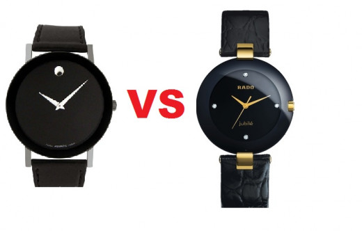 Movado Watches or Rado Watches