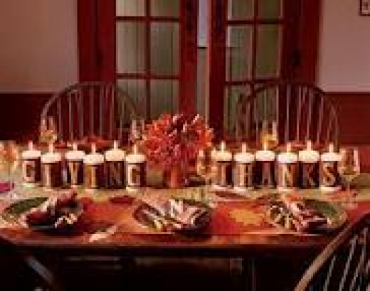 Using candles to decorate your table