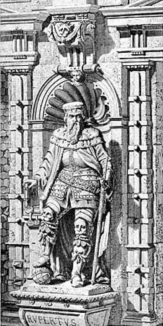 Rupert I, founder of Heidelberg University.