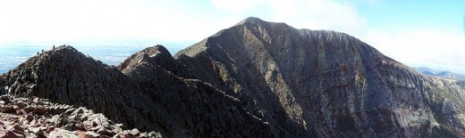 Mt. Katahdin is the tallest mountain in Maine,