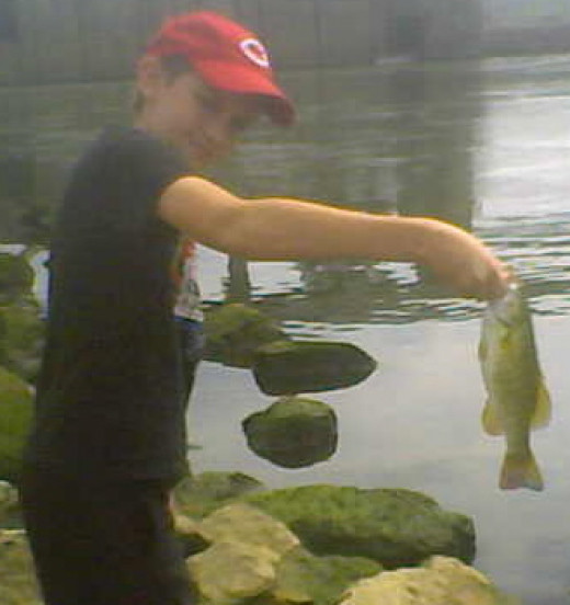 Nice Ohio River Smallmouth Put Up A Big Fight