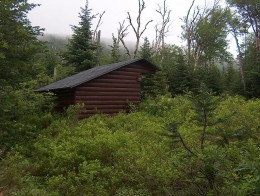 Some Maine summits require spending a night or two in a rustic lean-to.