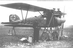 World War I: Albatros D.III, c. 1917