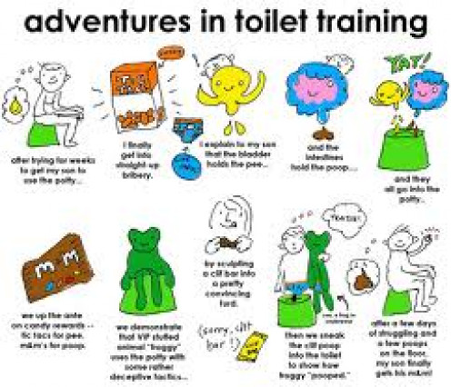 Funny Potty Cartoon that pretty much sums it up!