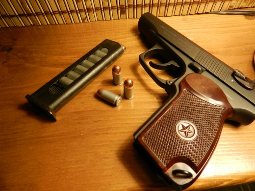 A Makarov featuring the original grips