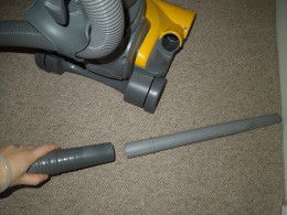 Eureka Bagless Upright Vacuum Cleaner - Extending the Hose.