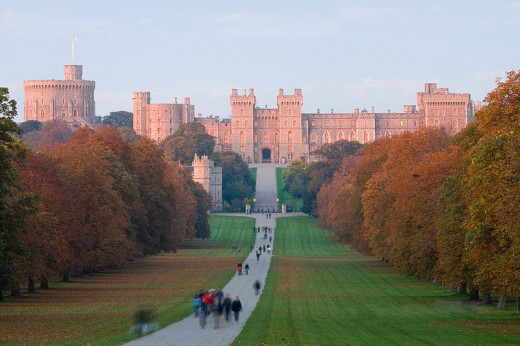 Windsor Castle. What, no wind turbines?