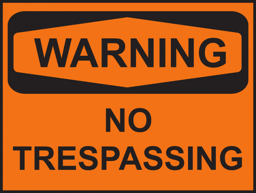 The owner of a patent has the right to exclude others from trespassing on his property