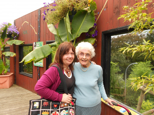 Mum at Colchester Zoo, Colchester Essex