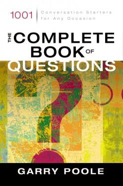 Questions make good conversation starters.
