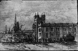 Barrie Town Hall, 1872.