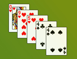 5 card poker hand combinations of functions homework