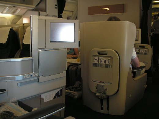 Some airlines offer amazing business class products