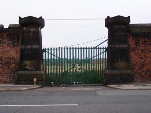 Clarence Dock Gates