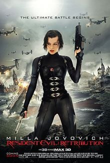Theatrical Poster for Resident Evil: Retribution