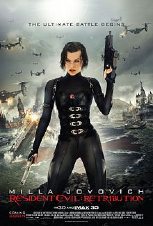 Theatrical Poster for Resident Evil: Retribution