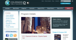 Colorado PBS Airs 9/11 Documentary Sponsored by 9/11 Families: Experts Reject Official Story, Give Proof of Demolition.