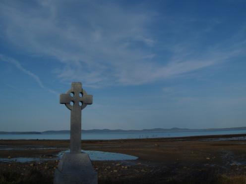 St Andrew's memorial to Irish famine
