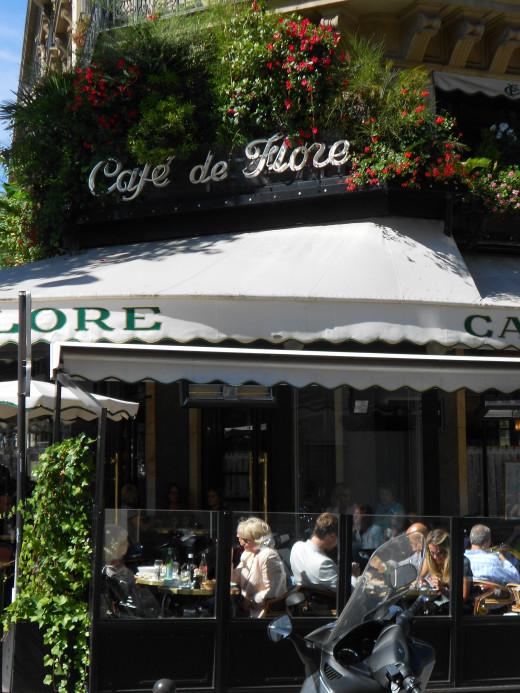 Cafe Flore in San Germain