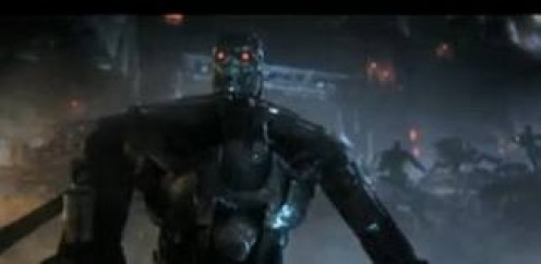 Terminator  was loosely based on the movie and it had real movie clips during the cut scenes. You play as John Conner and you must save the future.