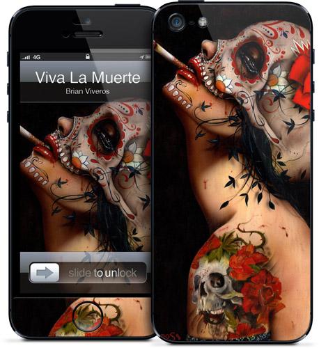 Viva La Muerte iPhone 5 Case