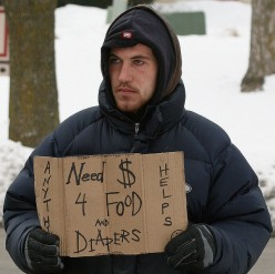Will you be helping the homeless this Christmas, with a meal if anything?