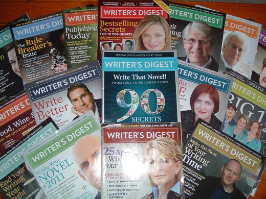 I love my Writers Digest!