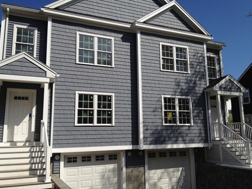 Semi-detached homes are commonly referred to as duplexes.
