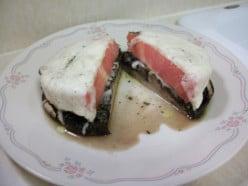 Portobello Mushroom with Mozarella