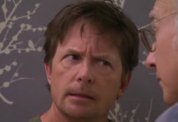"""Larry David vs. Michael J. Fox"""
