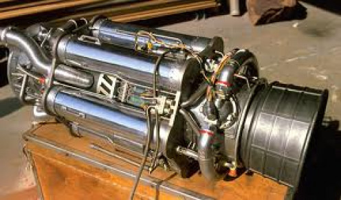The Jet Engine helped flying really take off and become a major mode of transportation during the early 1930s.