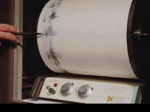 The Richter Scale measures the effects of an Earthquake. This invention has helped with the study of earthquakes and their effects.