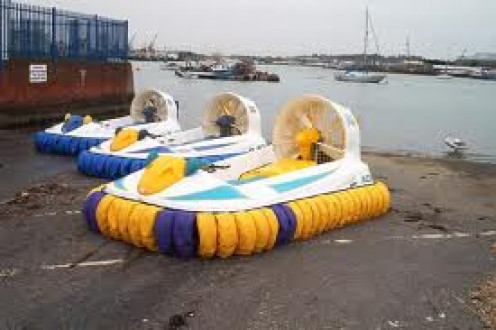 Hovercraft  has been used for military purposes, sporting events and just for fun.  It was an outstanding invention when it was first released to the masses.