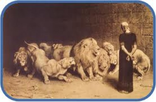 Daniel in The Lion's Den is part of the Holy Bible found in the Old Testament.