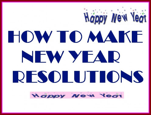 New year resolutions are easy to make but difficult to keep up with. However with a little bit of thinking and planning we can practically implement all the things in our lives which we promise for ourselves.