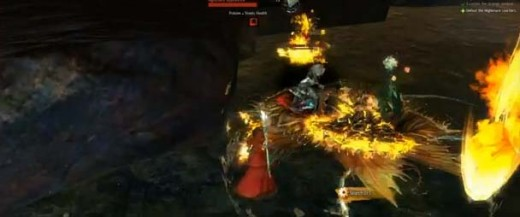 Guild Wars 2 Source of the Issue Quest - meteor shower is essential for withstanding the attacks of the nightmare courtiers and then counterattacking them.