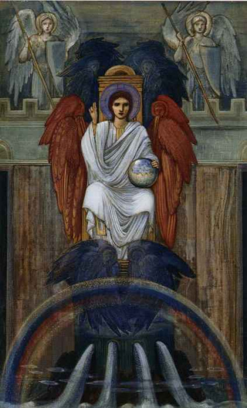 Christ Enthroned, Edward Burne-Jones (1833-1898)
