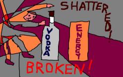 BROKEN! SHATTERED!