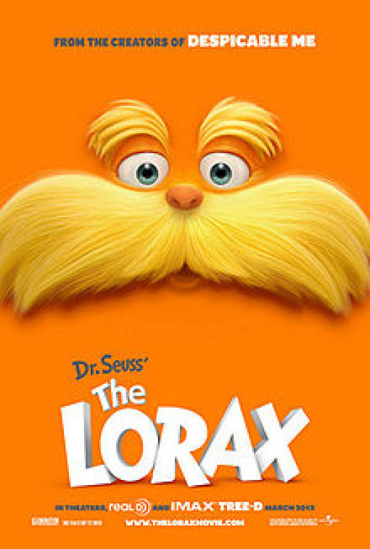 Theatrical Poster for Dr. Seuss' The Lorax