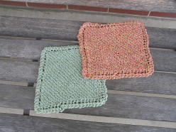 How to Knit an Eco-Cotton Dishcloth