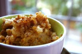 Pumpkin desserts are one of the best things about autumn.  This pumpkin rice pudding is no  exception.