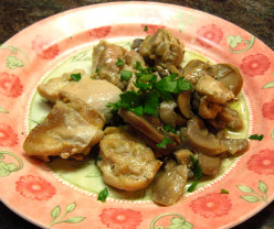 Chicken With Mushrooms and Onions - Low Carbs Recipe