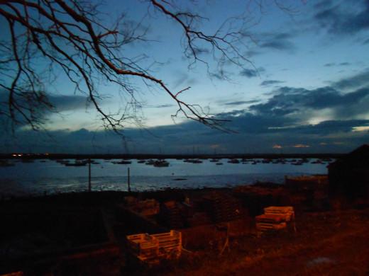 Dusk at West Mersea