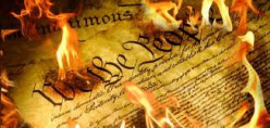"""I do not own this image.  It was obtained through a Google search using key words """"assault on the Constitution."""""""