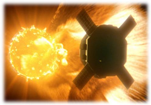 Figure 1 How Solar Flare Impacts Satellites