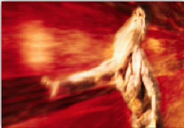 Figure 2  Scene from Fantastic Four (cosmic storm)