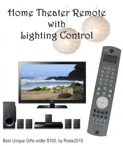 Multi-function Remote Control - 2012 Unique Gifts for Christmas - Gift Ideas for under $100, by Rosie2010
