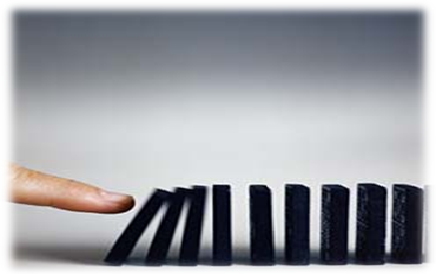 Figure 4 the Domino Effect
